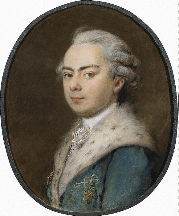 Portrait molodgo man with ermine collar. Hermitage ~ Part 05