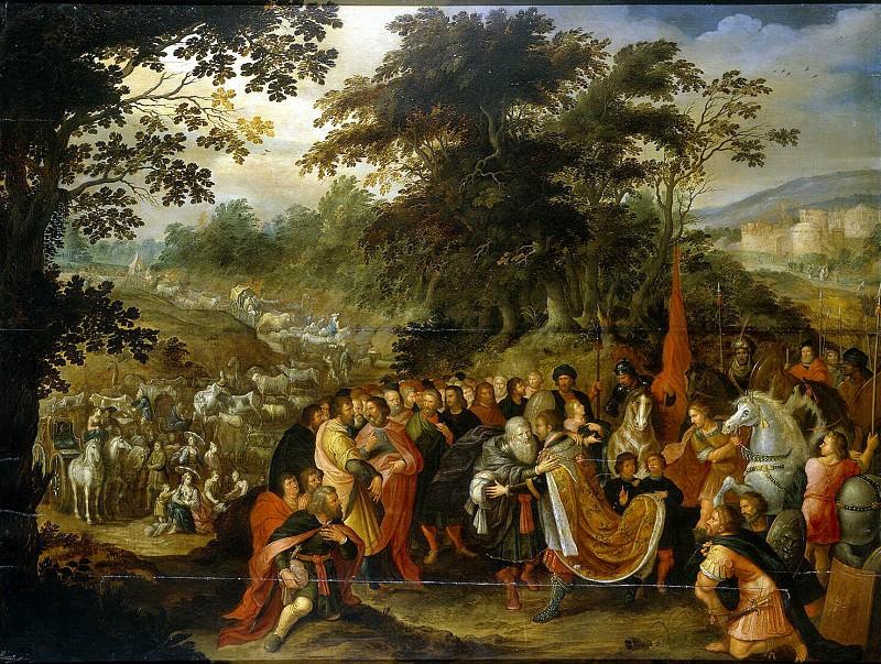 Meeting of Esau and Jacob. Hermitage ~ Part 05
