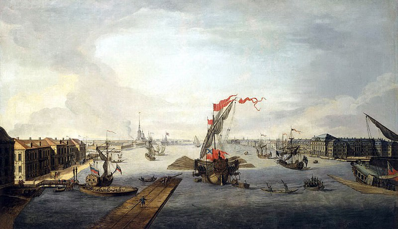 View of the Neva to the Peter and Paul Fortress. Hermitage ~ Part 05