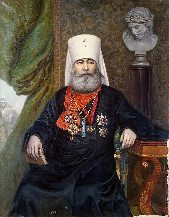 Karelin, Andrei Andreyevich - Portrait of Metropolitan Anthony. Hermitage ~ Part 05