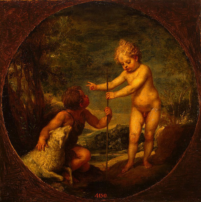 Alonzo Cano - Christ and John the Baptist as a child. Hermitage ~ Part 05