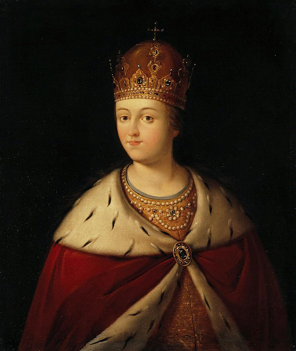 Portrait of Sophia. Hermitage ~ Part 05