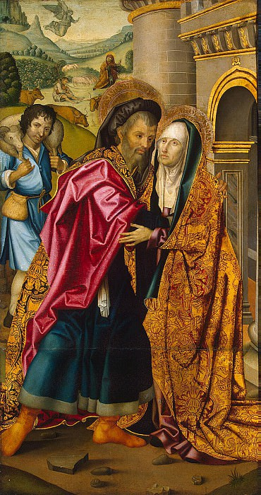 Meeting St. Joachim and St. Anna at the Golden Gate. Hermitage ~ Part 05