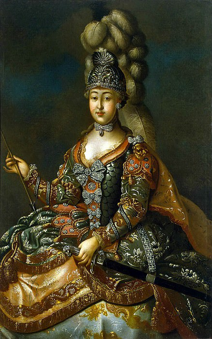 Portrait of Countess A. Sheremetev in rotary suit. Hermitage ~ Part 05