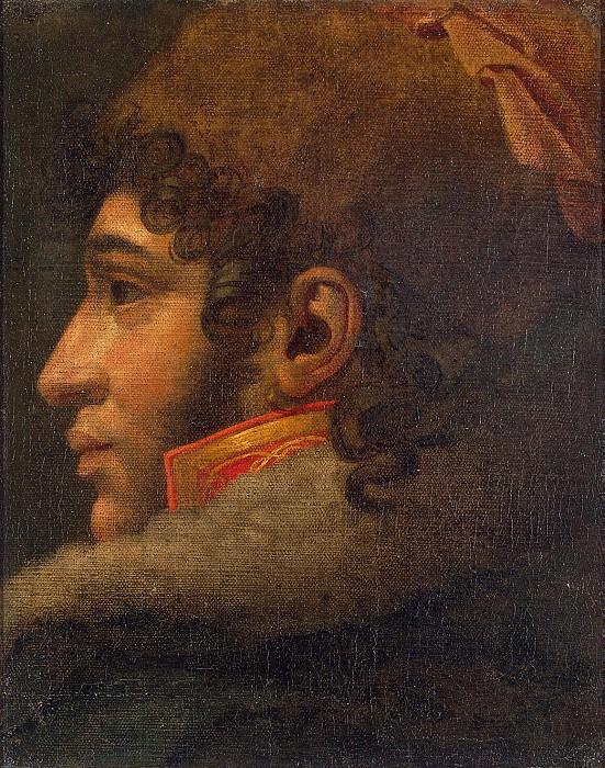 Girodet, Louis - Portrait of Murat. Hermitage ~ Part 05