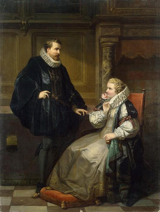Zegers, Cornelius - Cavalier and lady. Hermitage ~ Part 05