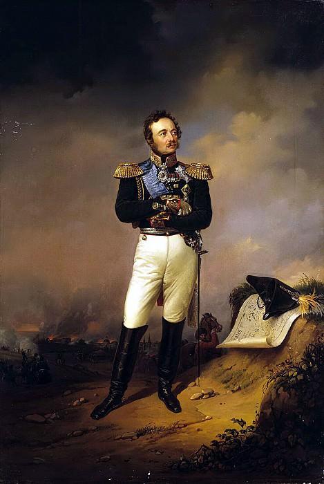 Portrait of Count Ivan Paskevich. Hermitage ~ Part 05