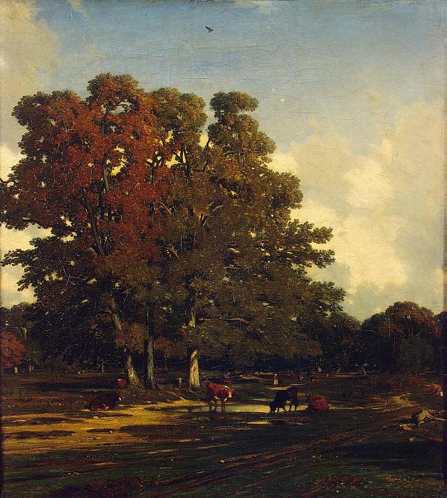 Dupre, Jules - Autumn Landscape. Hermitage ~ Part 05