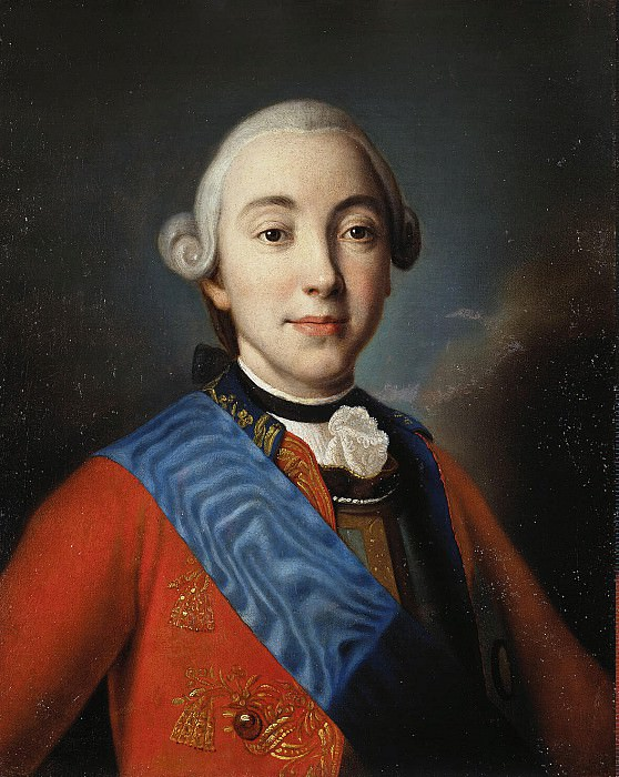Portrait of Grand Duke Peter Fedorovich. Hermitage ~ Part 05