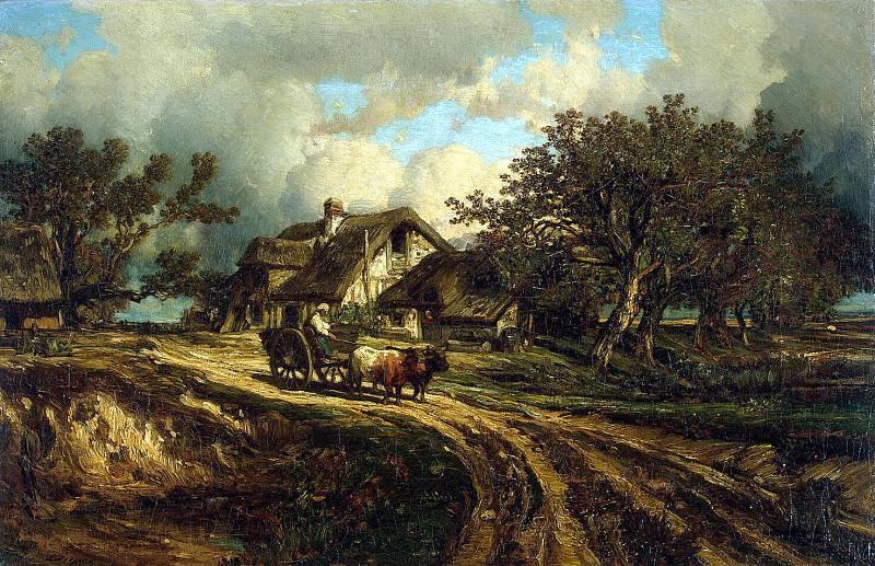 Dupre, Jules - Rural landscape. Hermitage ~ Part 05