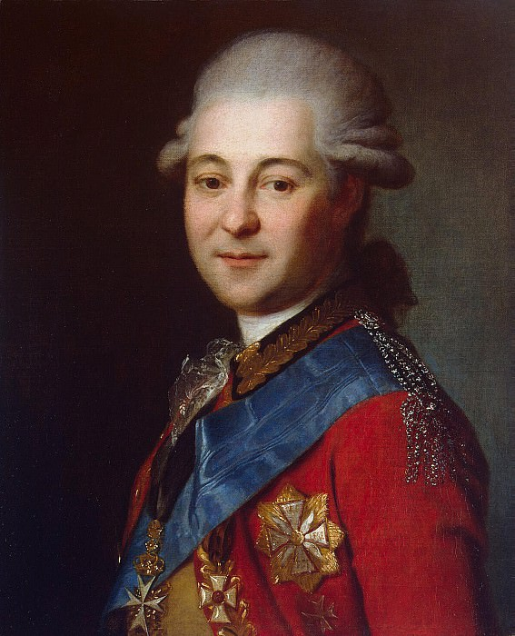 Portrait of Count Semyon Zorich Gavrilovic. Hermitage ~ Part 05