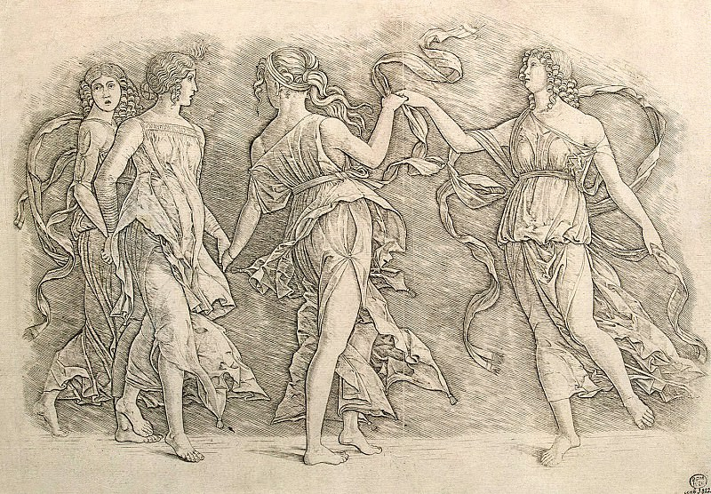 Four dancing women. Hermitage ~ Part 05