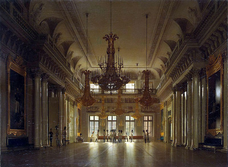 Zaryanko, Sergei Konstantinovich - Types of rooms of the Winter Palace. Field Marshals Hall. Hermitage ~ Part 05