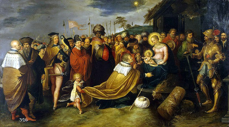 Adoration of the Magi. Hermitage ~ Part 05