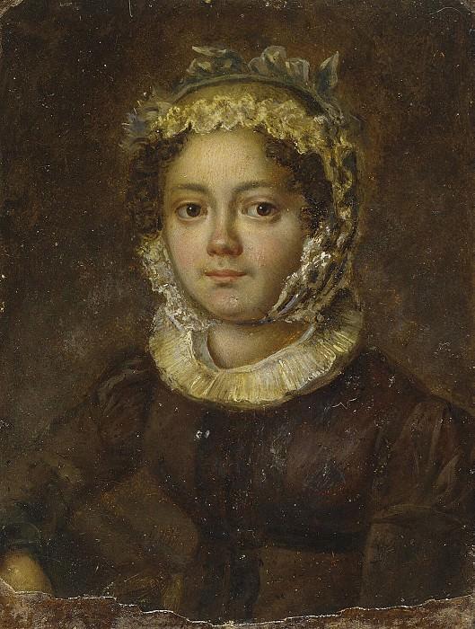 Портрет молодой женщины в чепчике с голубым бантом. Эрмитаж ~ часть 5