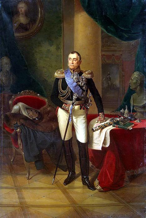 Portrait of Pyotr Mikhailovich Volkonsky. Hermitage ~ Part 05