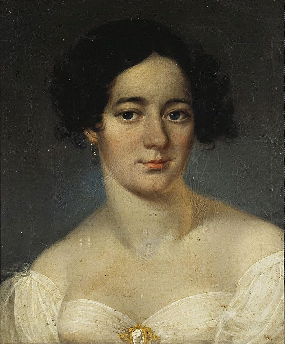 Portrait of an Unknown Woman in white dress. Hermitage ~ Part 05