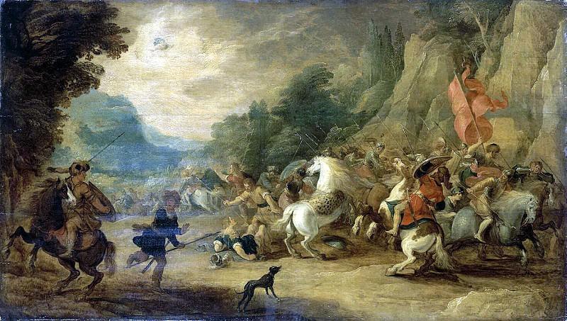 Jordaens Hans III Momper, de Ios - Conversion of Saul. Hermitage ~ Part 05