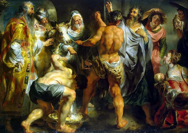 Йорданс, Якоб - Апостолы Павел и Варнава в Листре. Эрмитаж ~ часть 5