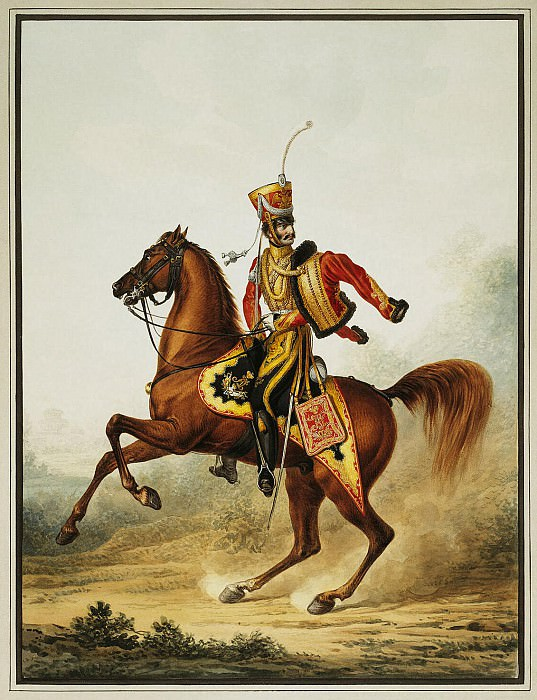 Sauerweid, Alexander - The staff officer of the Life Guards Hussar. Hermitage ~ Part 05