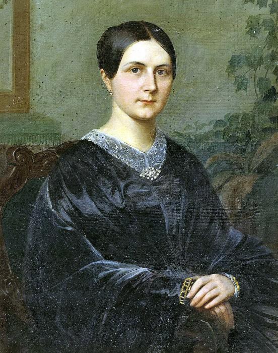 Portrait of Elizabeth Nikolaevna Odintsov. Hermitage ~ Part 05