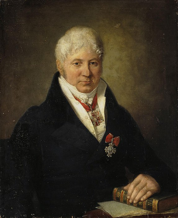 Portrait of Ivan Volkovs the sign of the Order of St. Catherine. Hermitage ~ Part 05