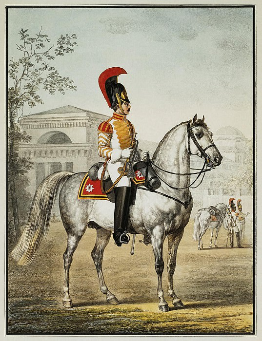 Зауервейд, Александр Иванович - Трубач кавалергардского полка. Эрмитаж ~ часть 5