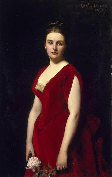 Karolyus-Duran, Charles - Portrait of Anna Alexandrovna Obolenskaya. Hermitage ~ Part 05