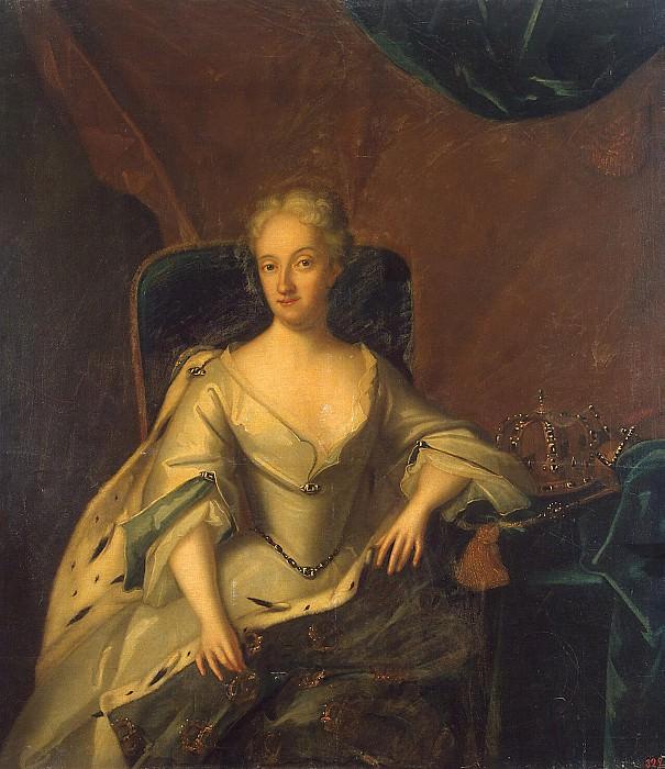 Portrait Ulrika-Eleonora younger, Queen of Sweden. Hermitage ~ Part 05