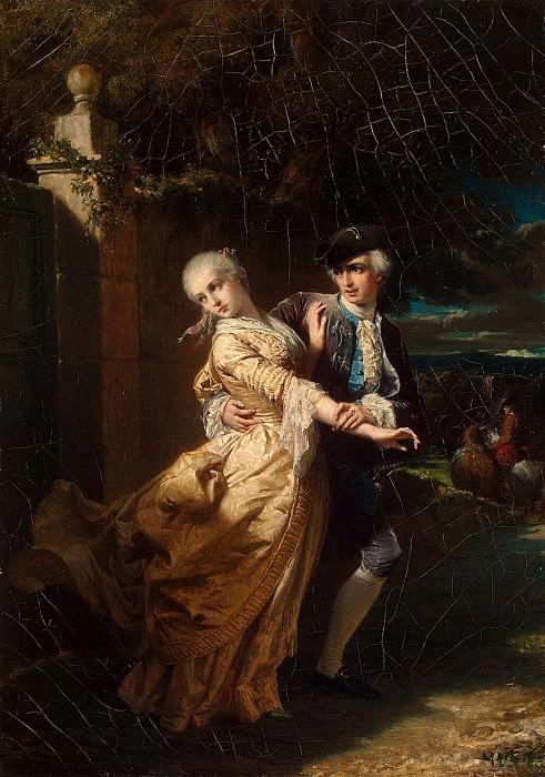 Dyubyuf, Louis Edward - Abduction Lovelassom Clarissa Harlow. Hermitage ~ Part 05