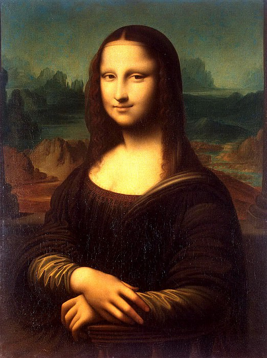 Portrait of Mona Lisa Mona Lisa. Hermitage ~ Part 05