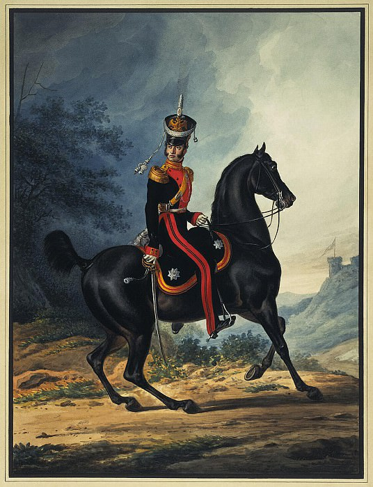 Sauerweid, Alexander - The staff officer of the Life Guards Dragoon Regiment. Hermitage ~ Part 05