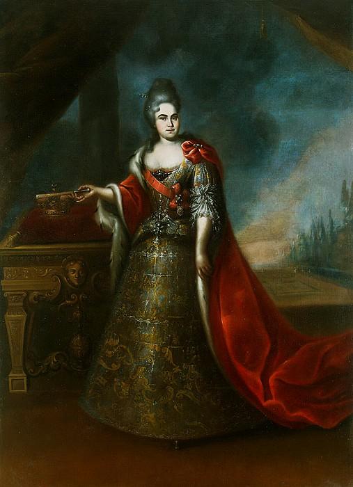 Portrait of Empress Catherine I. Hermitage ~ Part 05