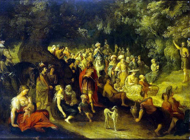 Jordaens Hans III - Sermon of John the Baptist. Hermitage ~ Part 05