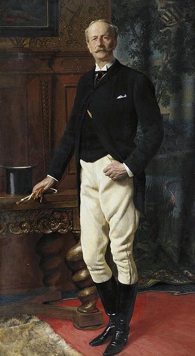 Portrait of the Duke of Saxe-Altenburg. Part 05 Hermitage