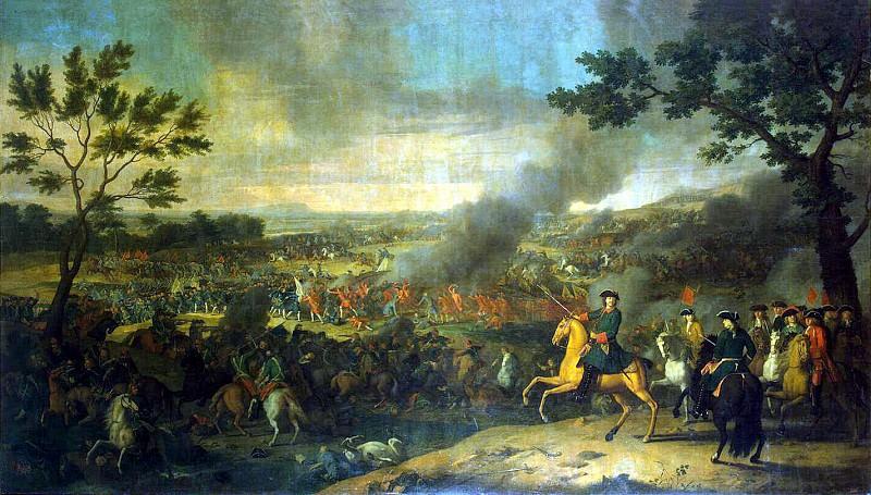 Caravaque, Louis - Battle of Poltava. Hermitage ~ Part 05