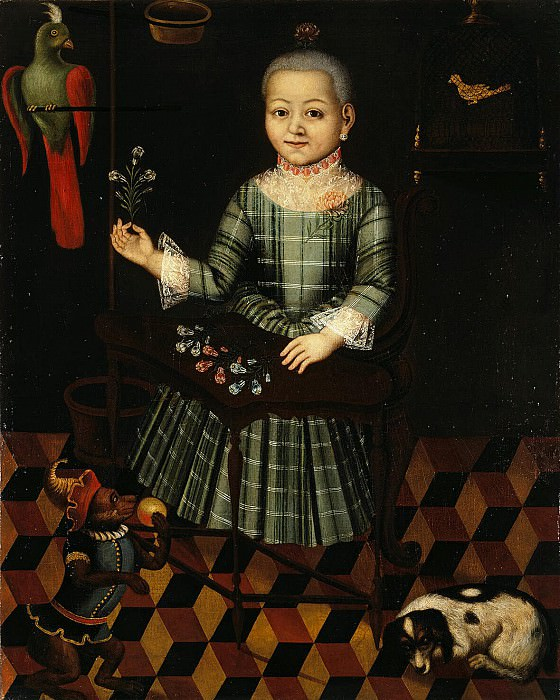 Girl with a Parrot. Hermitage ~ Part 05