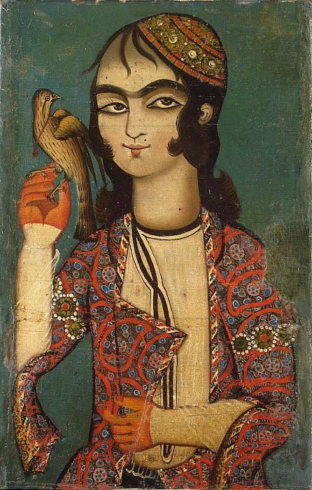 A boy with a falcon. Hermitage ~ Part 05