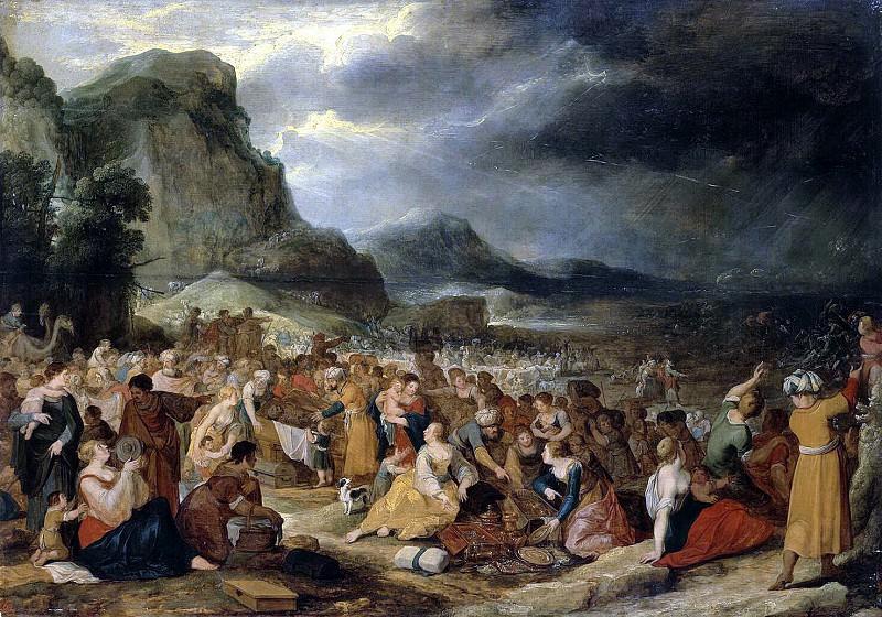 Jordaens Hans III - the Israelites after crossing the Red Sea. Hermitage ~ Part 05