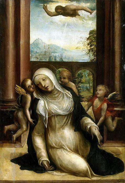 Stigma and faint St. Catherine of Siena. Hermitage ~ Part 05