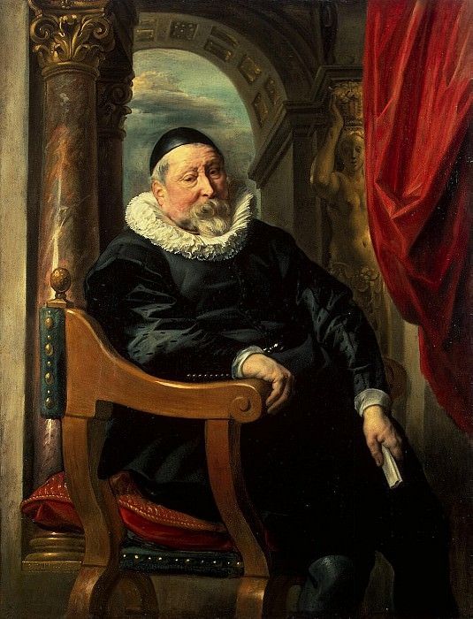 Jordaens, Jacob - Portrait of an old man. Hermitage ~ Part 05