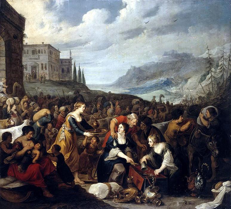 Jordaens Hans III - the Israelites after crossing the Red Sea (2). Hermitage ~ Part 05
