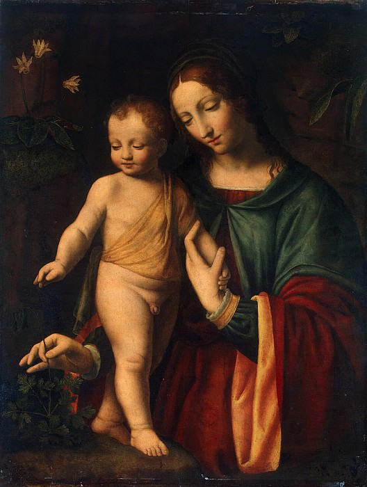 Madonna and Child (4). Hermitage ~ Part 05