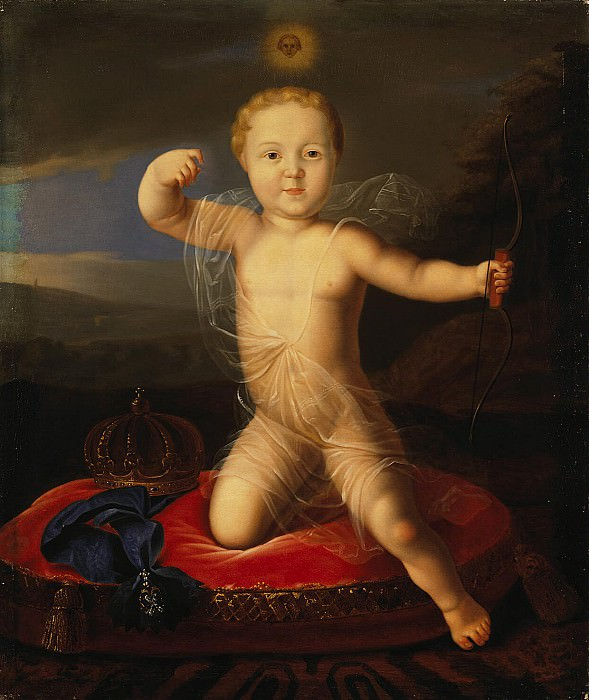 Portrait of baby Prince Peter Petrovich. Hermitage ~ Part 05