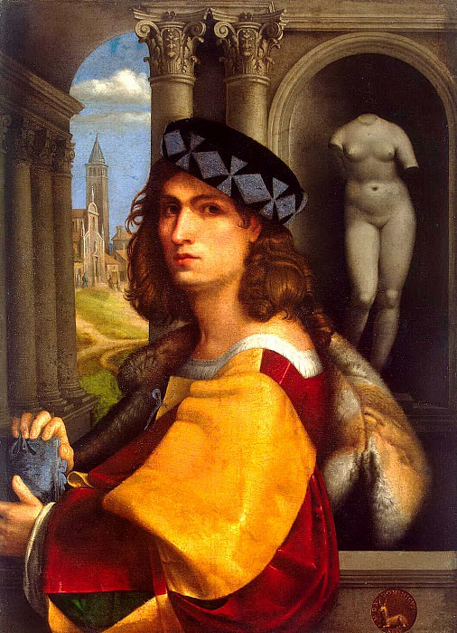 Caprioli, Domenico - Portrait of a Man. Hermitage ~ Part 05