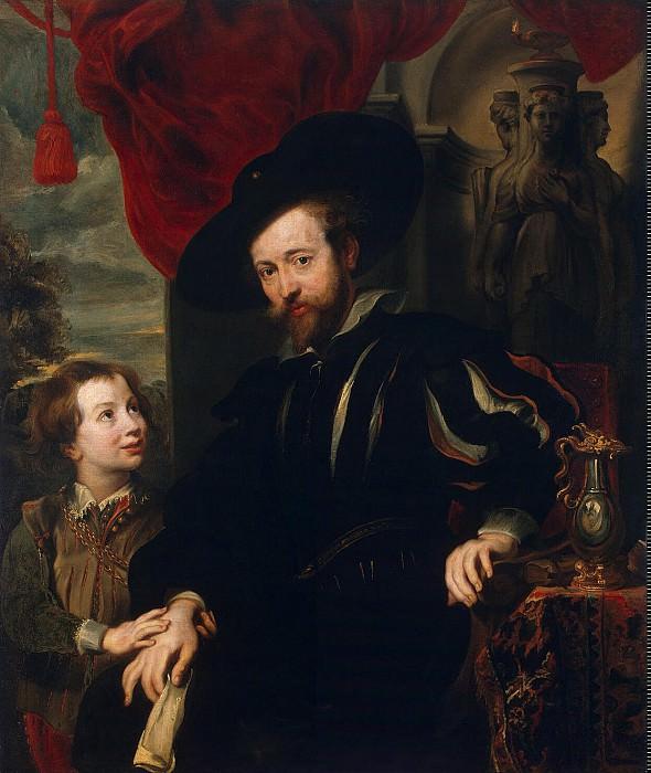 Портрет Рубенса с сыном Альбертом. Эрмитаж ~ часть 5
