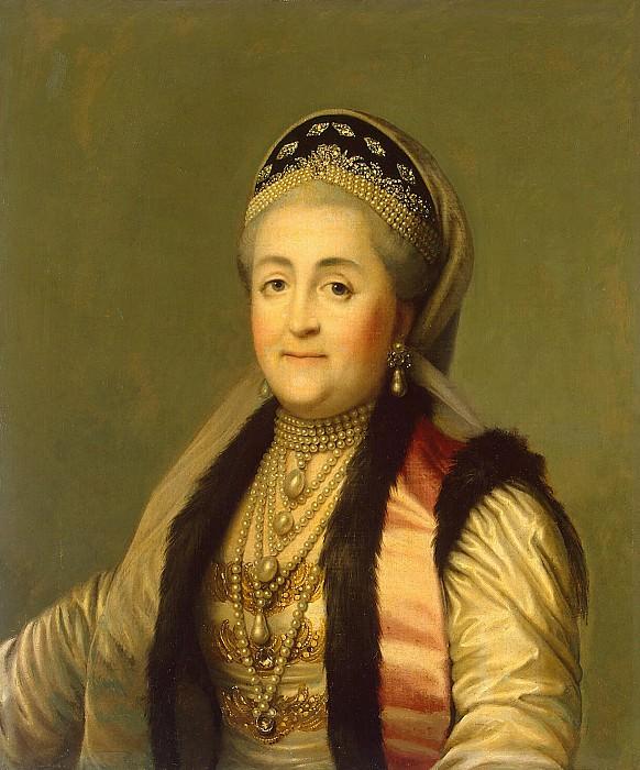 Портрет Екатерины II в кокошнике. Эрмитаж ~ часть 5