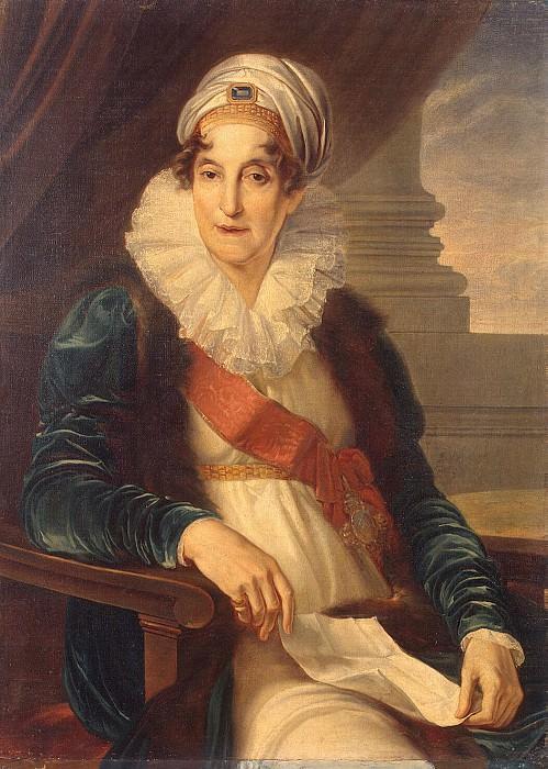 Kamuchchini, Vincenzo - Portrait of Catherine Petrovna Shuvalova. Hermitage ~ Part 05