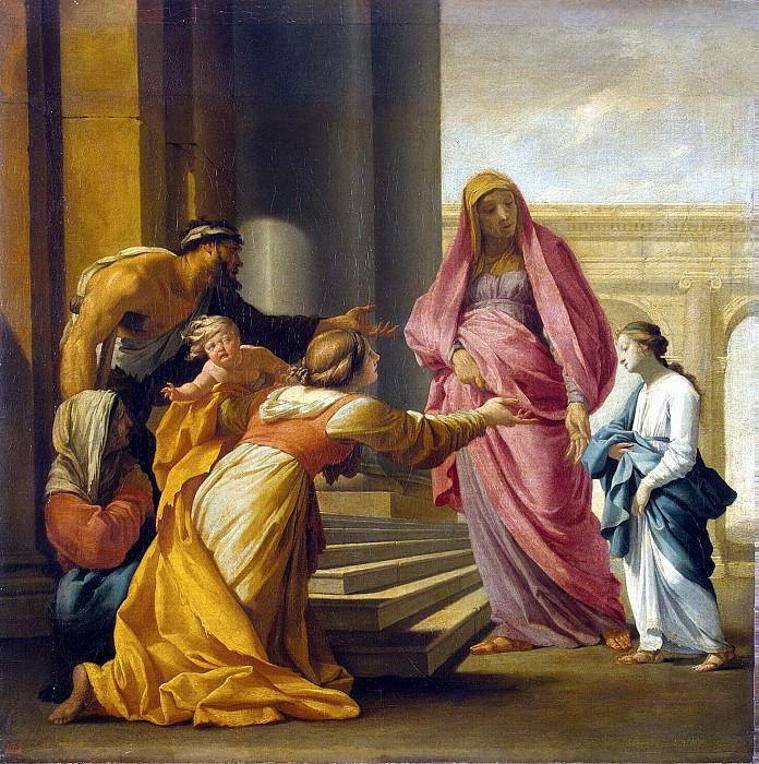 Лесюер, Эсташ - Введение Марии во Храм. Эрмитаж ~ часть 7