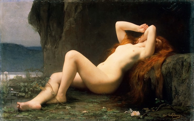 Lefebvre, Jules Joseph - Mary Magdalene in the grotto. Hermitage ~ part 07